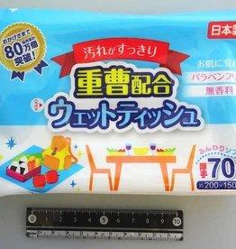 Pika Pika Japan Baking soda blending wet wipes 70?