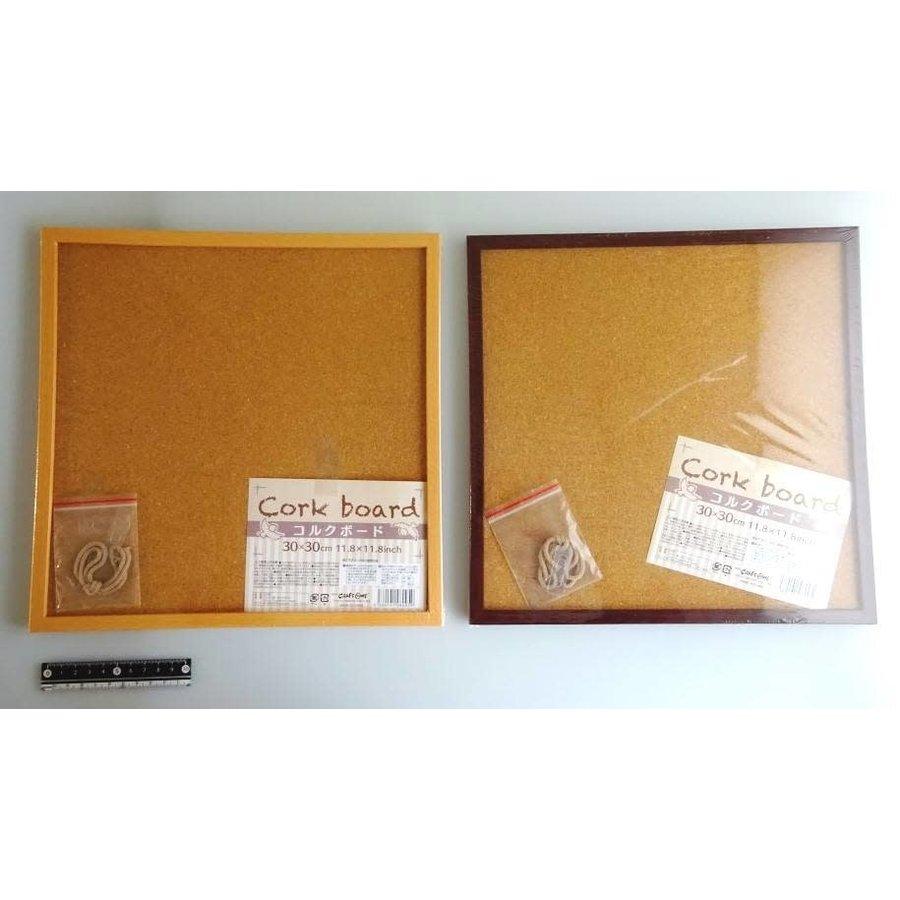 Cork board 30?30cm-1