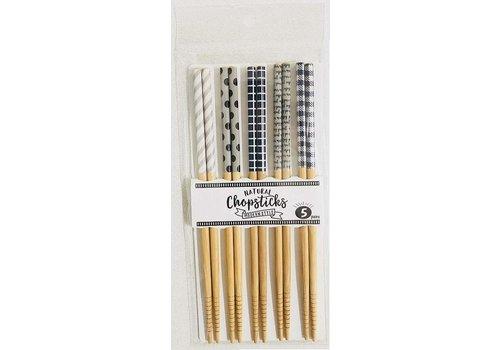 Bamboo chopsticks, modern, 5sets