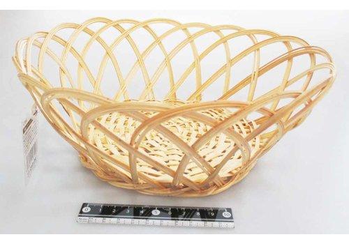 Bamboo knitting fruits basket round