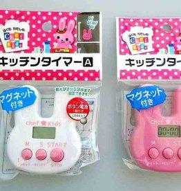 Pika Pika Japan Kitchen timer rabbit