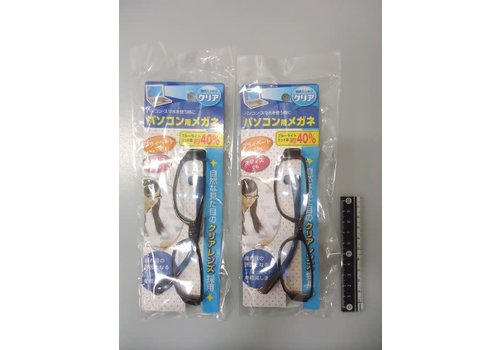 Glasses for PC clear lens
