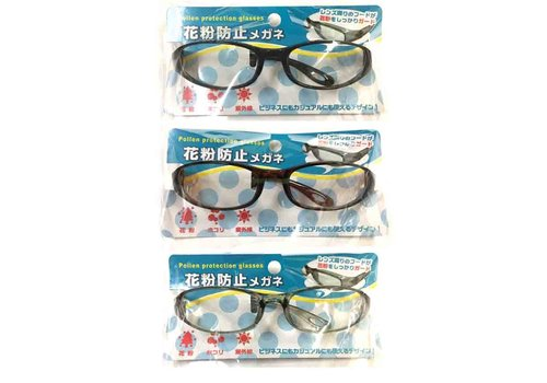 Pollen protection glasses