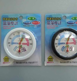 Pika Pika Japan Thermo-hygrometer with comfortable marker for hanging