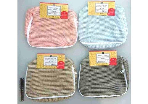 W mesh laundry net flat type