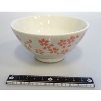 Cherry blossoms (white) rice bowl
