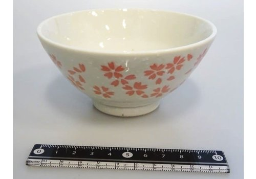 Cherry blossoms (white) rice bowl