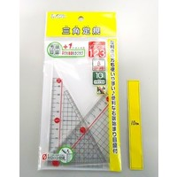 Acrylic triangle 10cm 2p