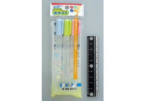 Pen type liquid glue 10ml x 3p
