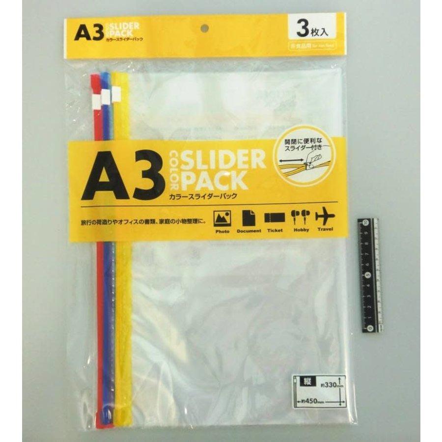 ?Color slider pack A3 vertical type 3p-1