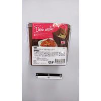 Deli box with handle brown