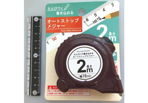 Tape measure, 2m (Writable on the tape with pencils)