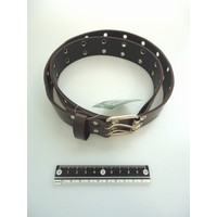 Fashion belt wide brown
