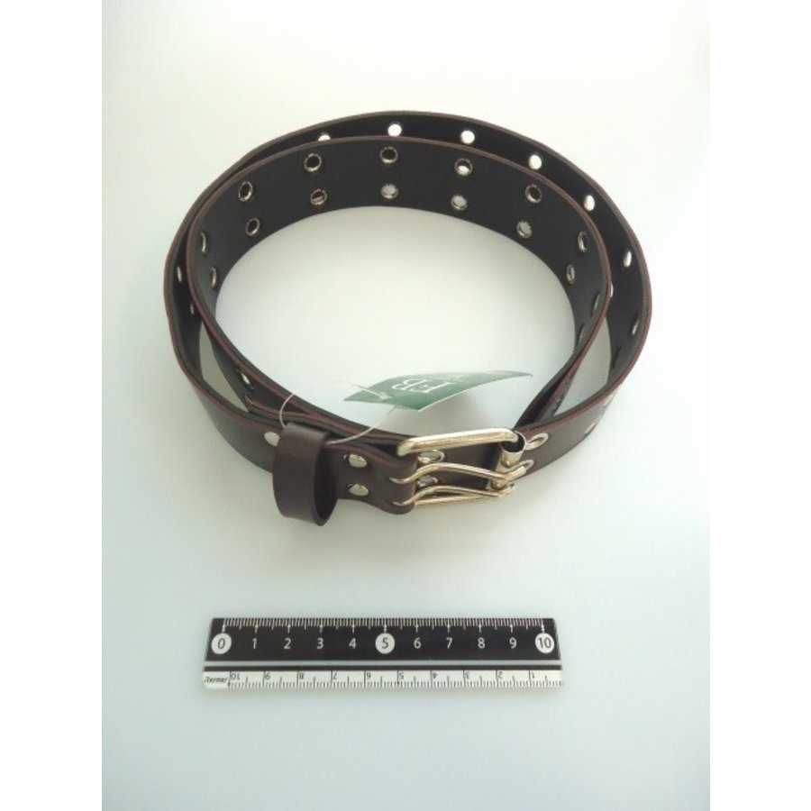 Fashion belt wide brown-1