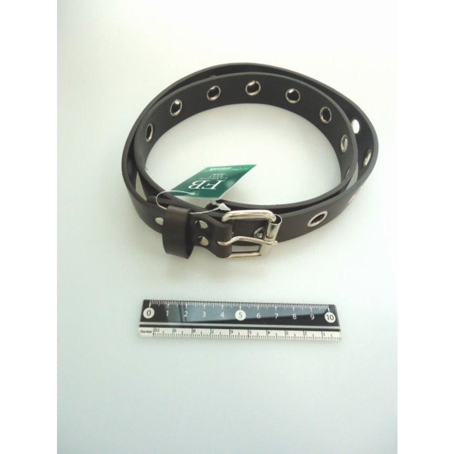 Fashion belt M black brown-1