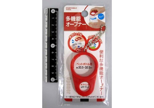 Portable bottle opener