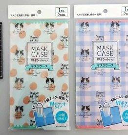 Pika Pika Japan Antibacterial mask case cat