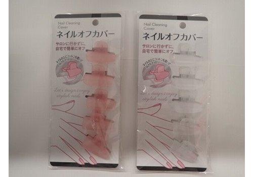 Nail polish remover clip