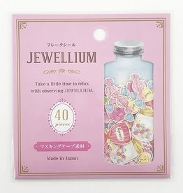 Pika Pika Japan Flake seal JEWELLIUM candy