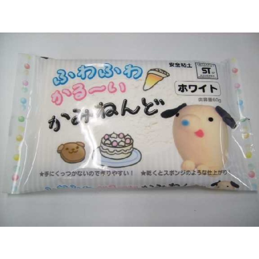 Paper clay 60g White-1