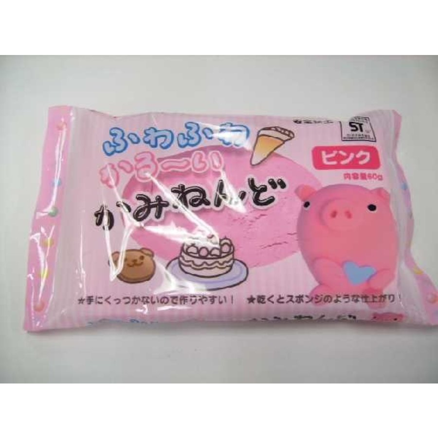 Paper clay 60g Pink-1