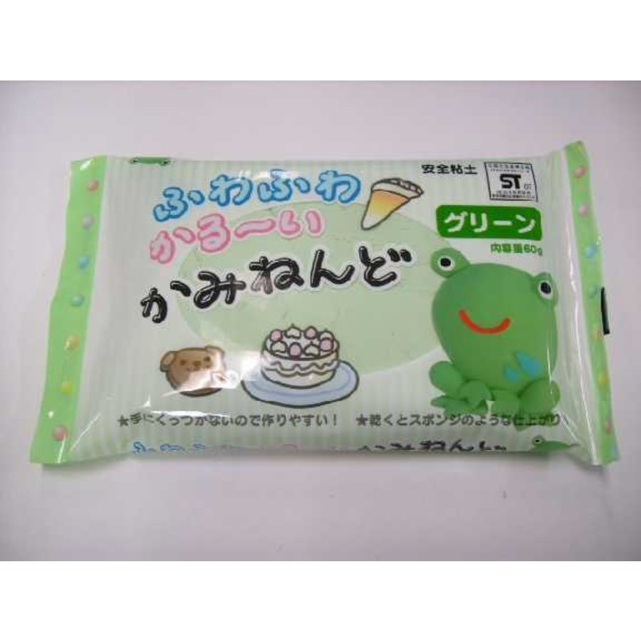 Paper clay 60g Green-1
