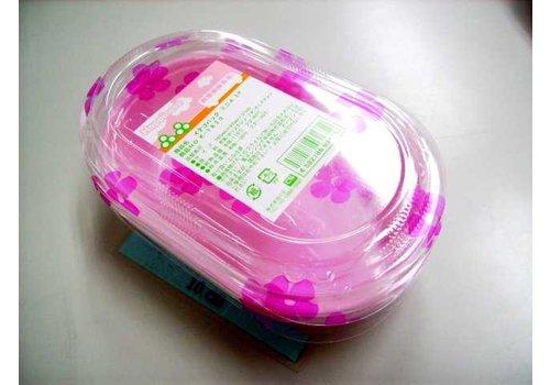 Disposable lunch box, shape A, 3p