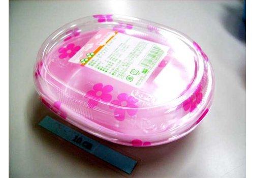 Disposable lunch box, shape B, 3p