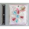 Pika Pika Japan Nail parts 9p mix monogram