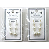 Pika Pika Japan Pearl line pierced earrings