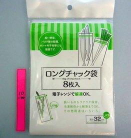 Pika Pika Japan Long fastner bag 8p