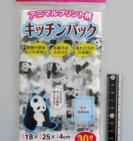 Pika Pika Japan Kitchen pastic bag (mono color printing) 30p