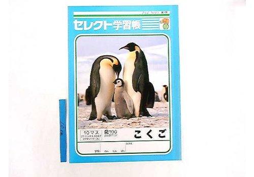 B5 Japanese 10cells notebook