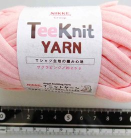 Pika Pika Japan Tee Knit yarn cherry pink