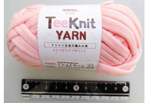 Tee Knit yarn cherry pink