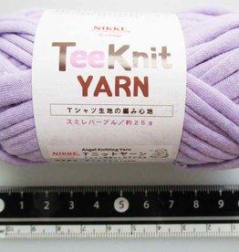 Pika Pika Japan Tee Knit yarn violet purple