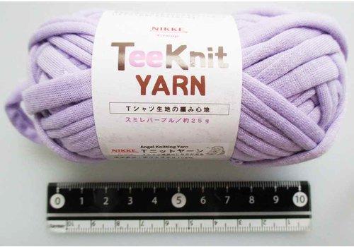 Tee Knit yarn violet purple