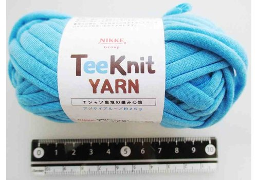 T-shirt yarn, blue