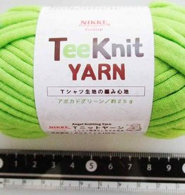 Pika Pika Japan Tee Knit yarn avocado green