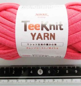 Pika Pika Japan Tee Knit yarn orange coast