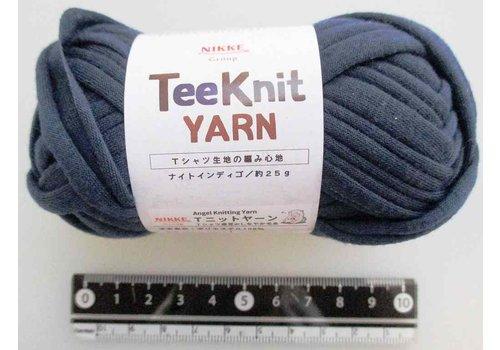 T-shirt yarn, dark blue