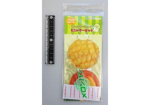 Mini letter set melon bread