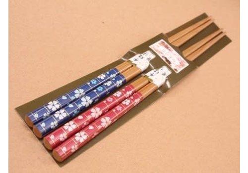 Chopsticks, cherry blossom pattern, 2sets