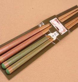Pika Pika Japan Pair chopsticks 2prs line
