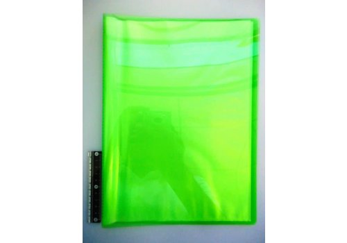 A4 clear file 20p clear green
