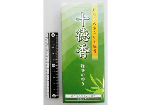 Jittoku incense green tea flavor