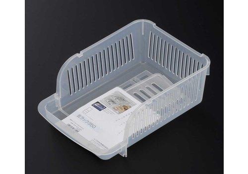 Plastic fridge basket for 350ml can
