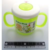 Baby mug green