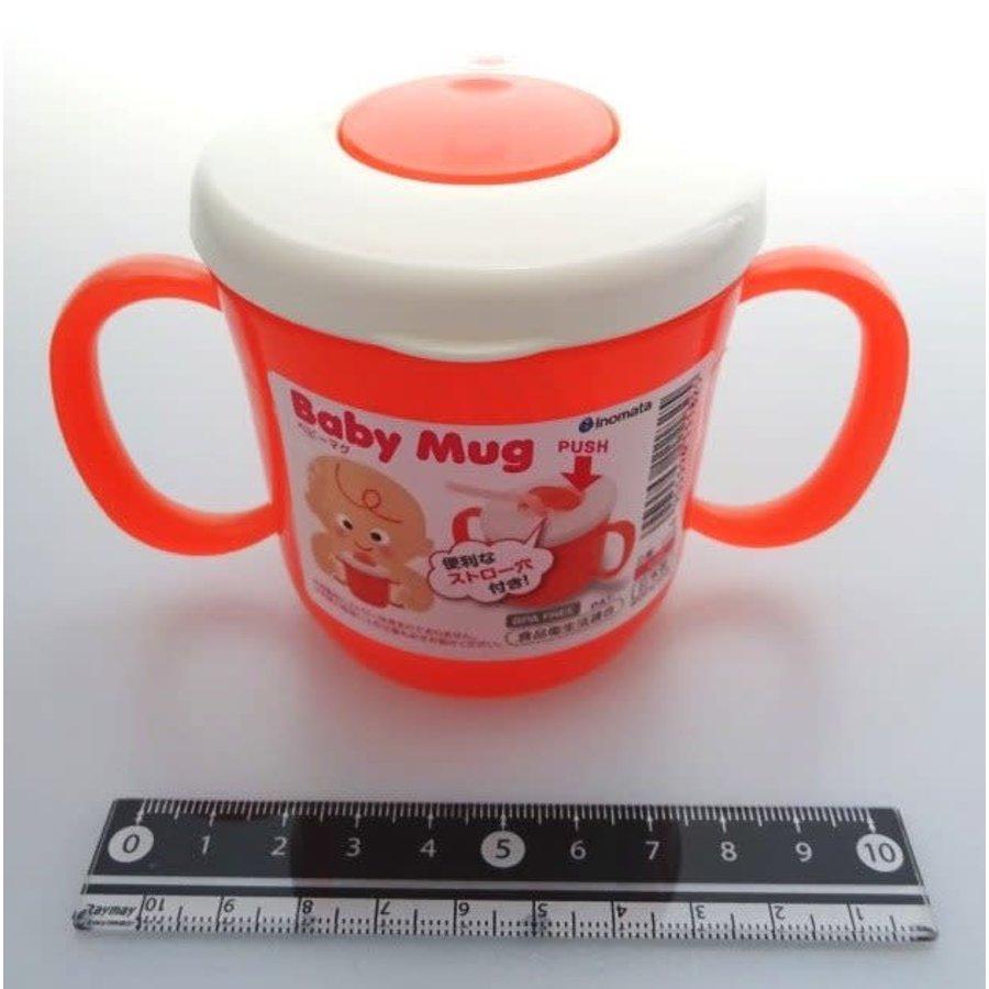 Baby mug red-1