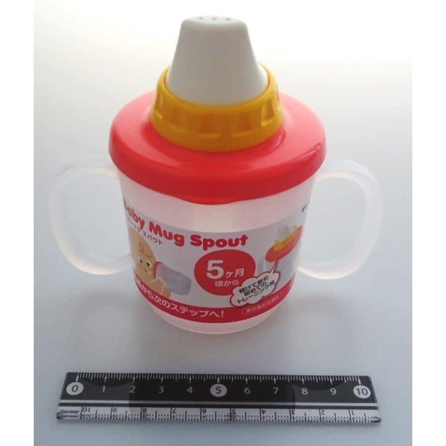 Baby mug spout pastel pink-1